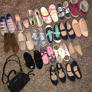 WHO NEEDS SHOES?! Sizes 11 and 12 Little Girls